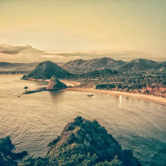 Die Küste von Kuta Lombok