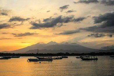 Sonnenaufgang auf Gili Trawangan