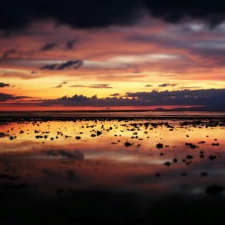 Sonnenuntergang auf Gili T