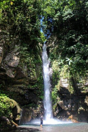 Wasserfall auf Camiguin