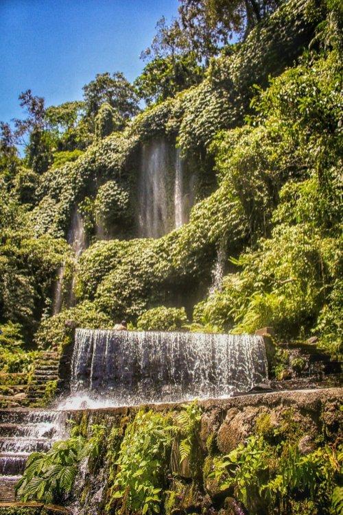 Wasserfall im Herzen von Lombok