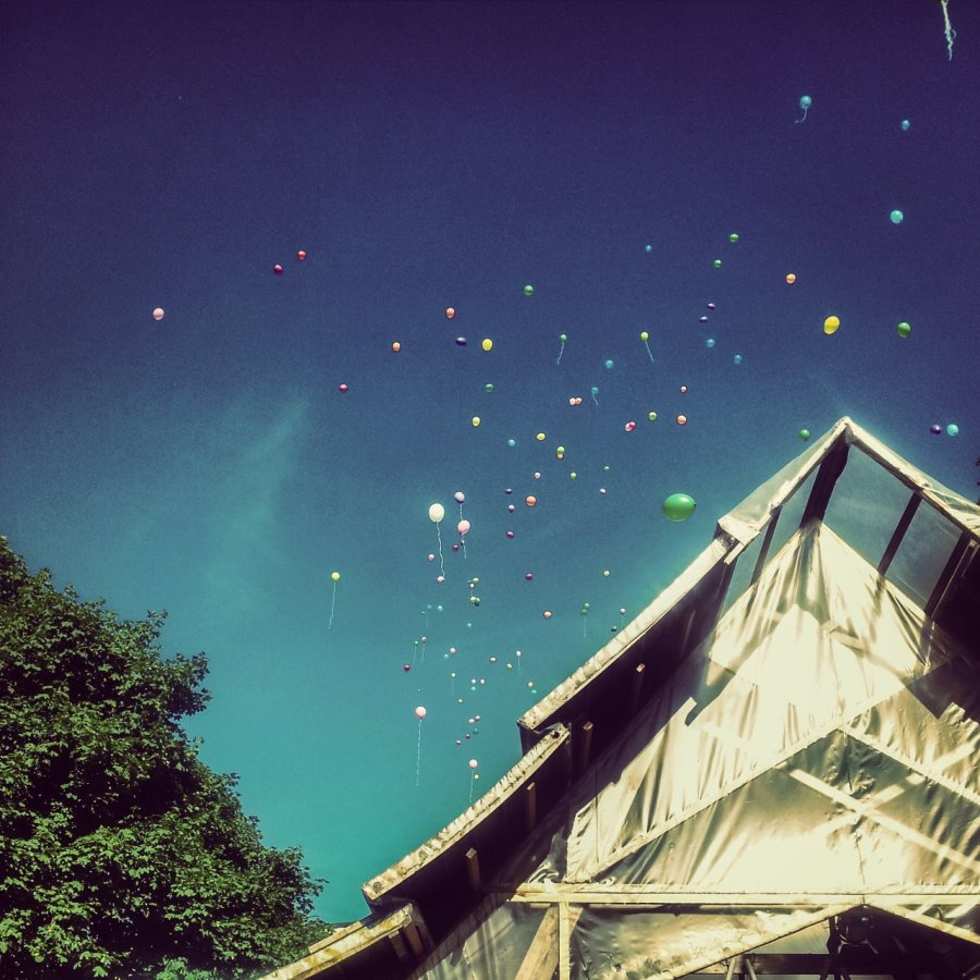 Ballons auf dem Daughterville Festival 2013