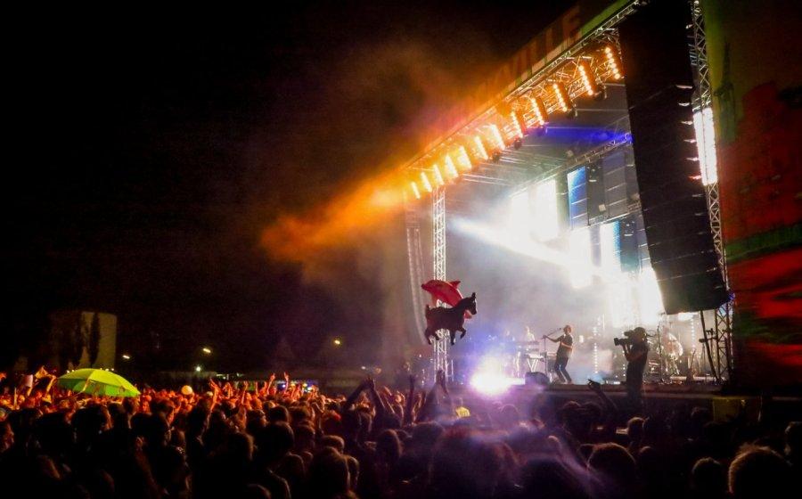 Großschot auf dem Dockville Festival