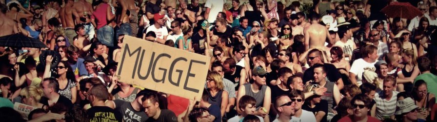 Mugge!