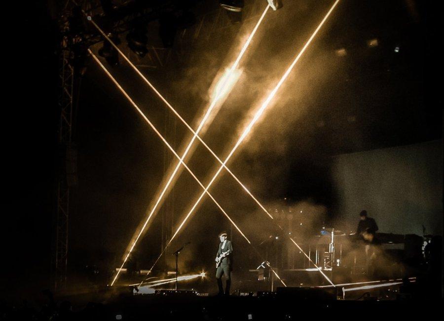 The XX live im Spreepark, Berlin 2013