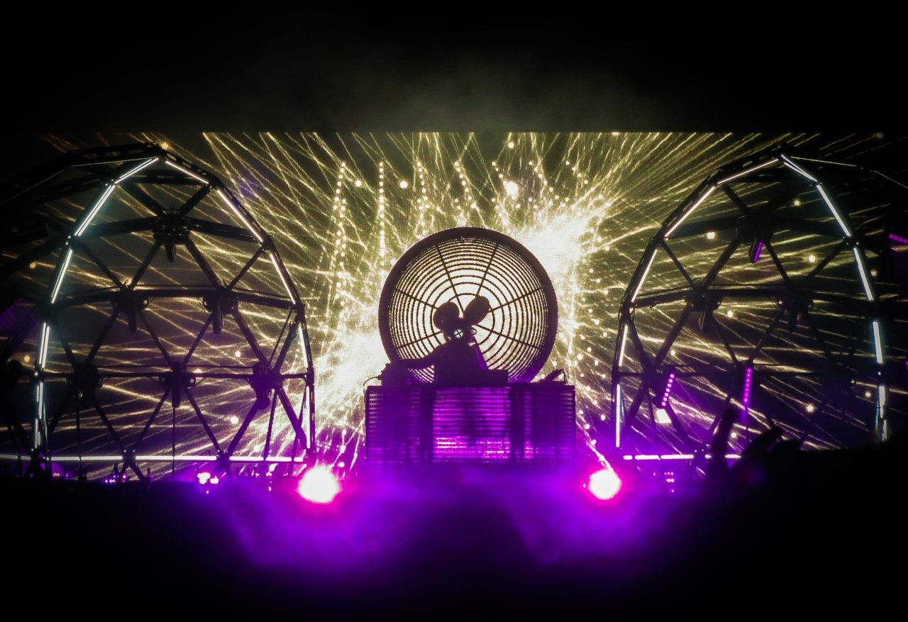 Deadmau5 live auf dem Hurricane Festival