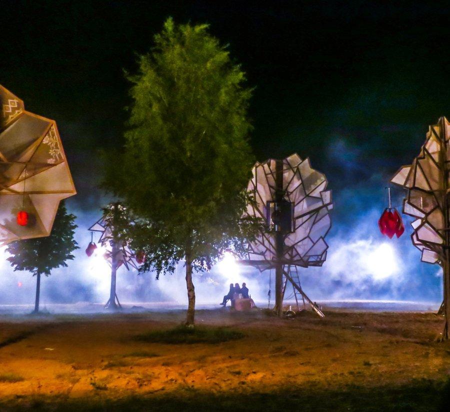 Tanzwüste auf dem Fusion Festival 2015