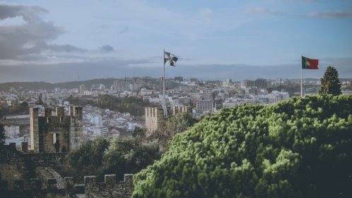 Aussichtspunkt Castelo de Sao Jorge