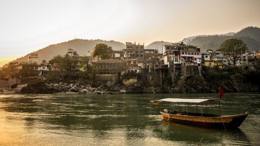 Rishikesh am Ganges