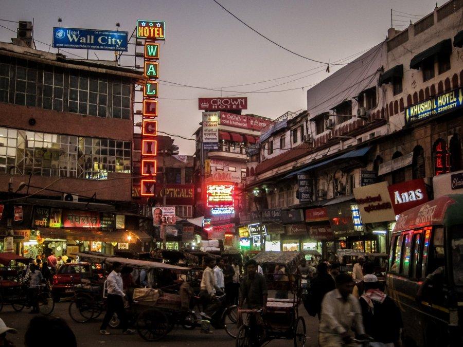 Innenstadt von Delhi