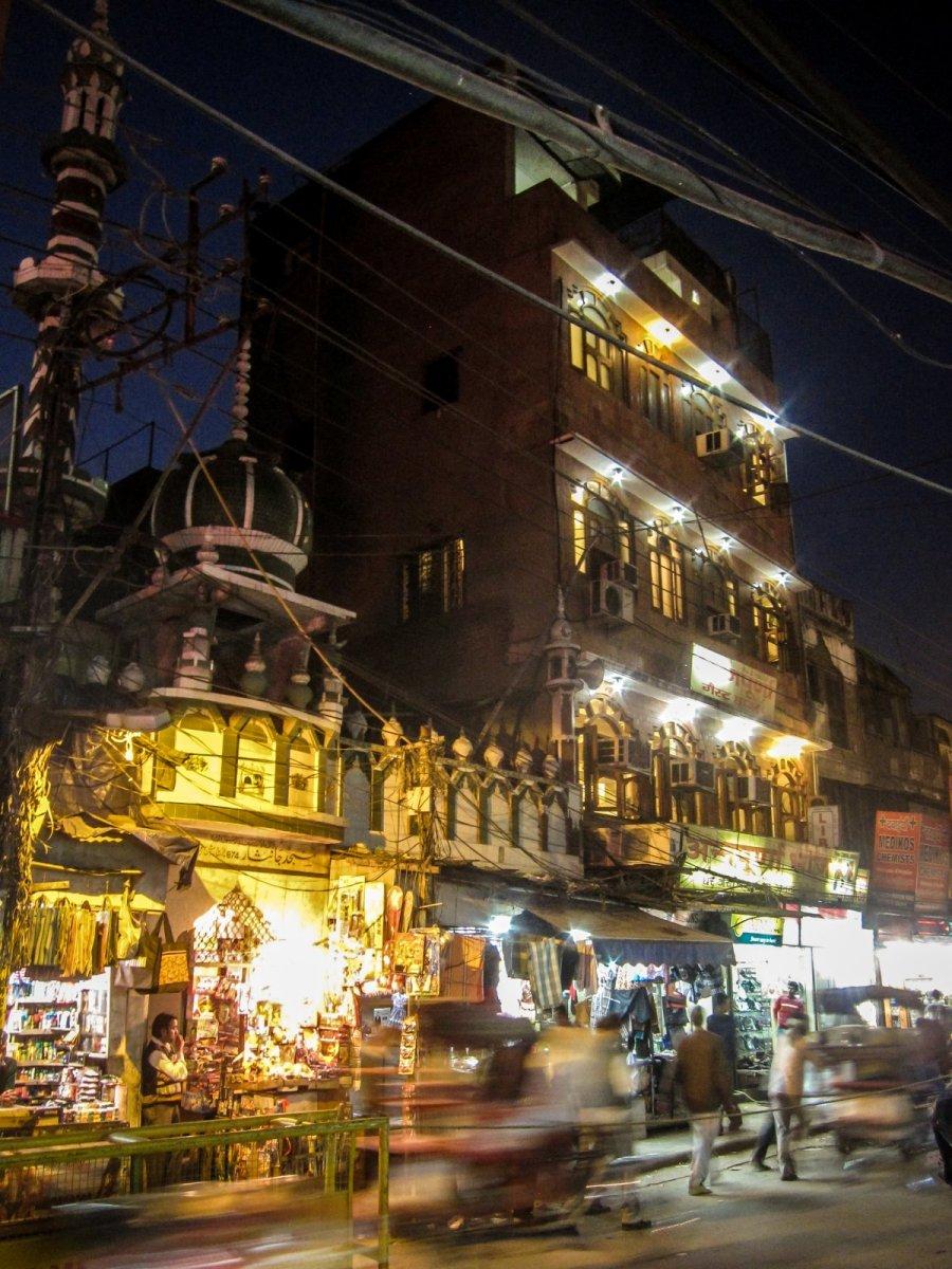 Nachtleben in Delhi