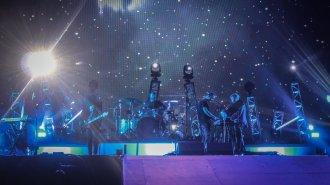 M83 live Colours of Ostrava Festival 2016