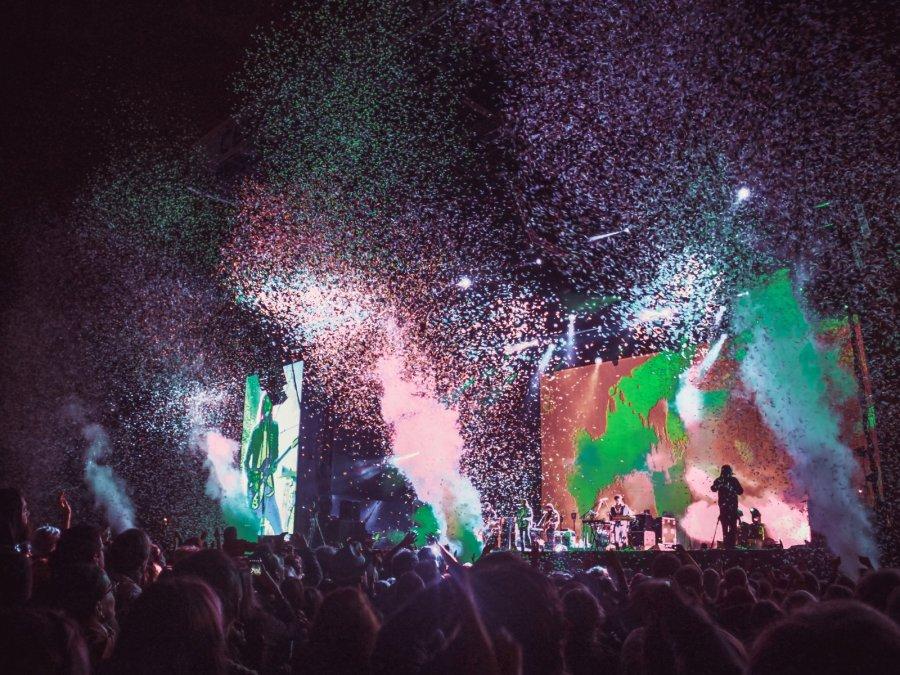 Tame Impala live Colours of Ostrava Festival 2016