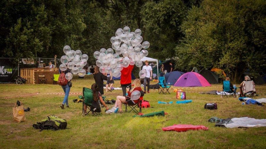 Ballons zum Jubiläum