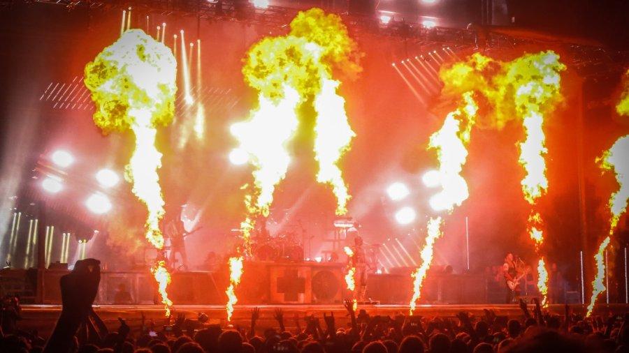 Rammstein live auf dem Hurricane Festival 2016