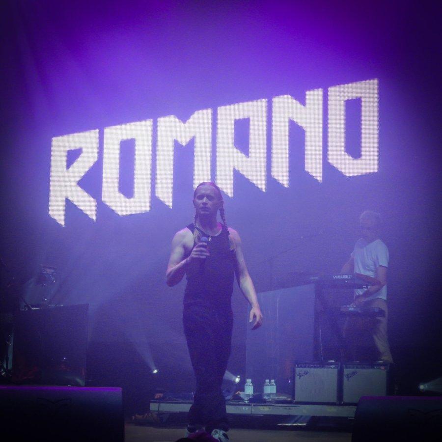 Romano live auf dem Hurricane Festival 2016