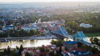 Brücke Blaues Wunder in Dresden