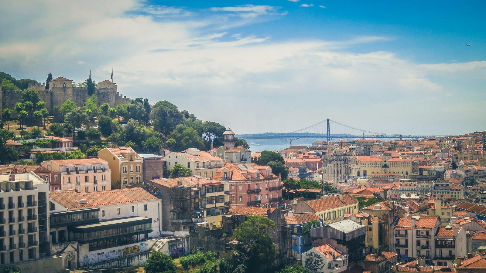 Miradouro da Graça in Lissabon