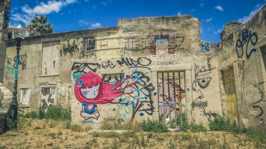 Graffiti in Lissabon