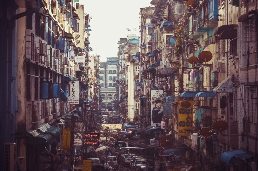 Rangun Innenstadt