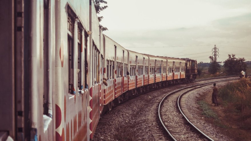 Ringbahn in Rangun