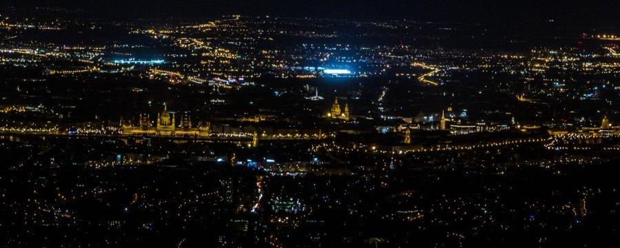 Aussicht über Budapest von Normafa