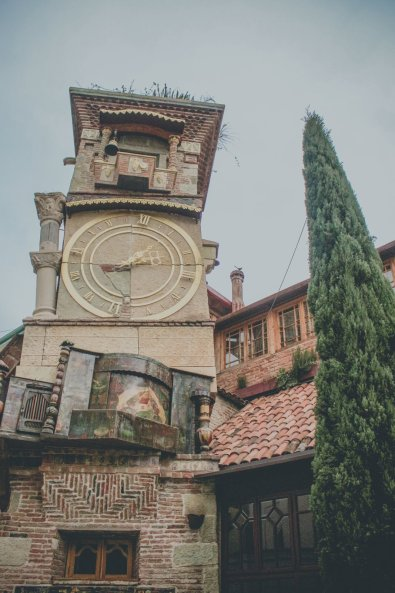 Clock Tower in Tbilisi