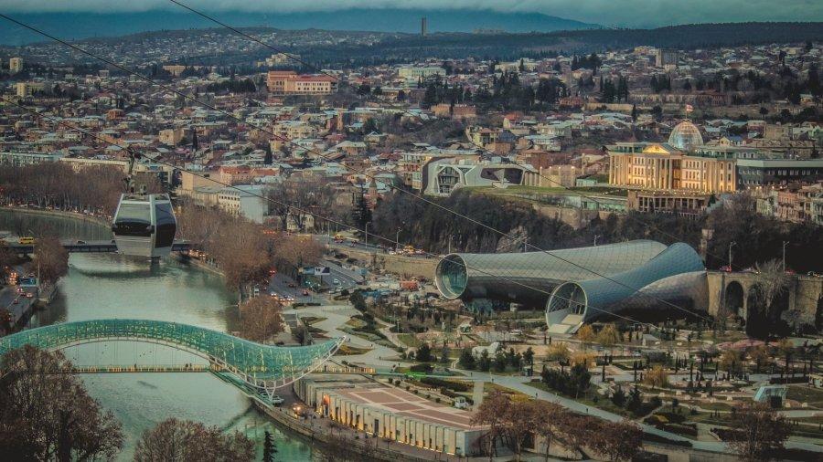 Tiflis von oben