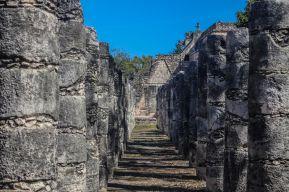 Chichén Itzá, Gruppe der tausend Säulen