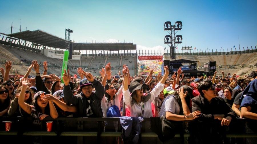 Publikum auf dem Vive Latino Festival
