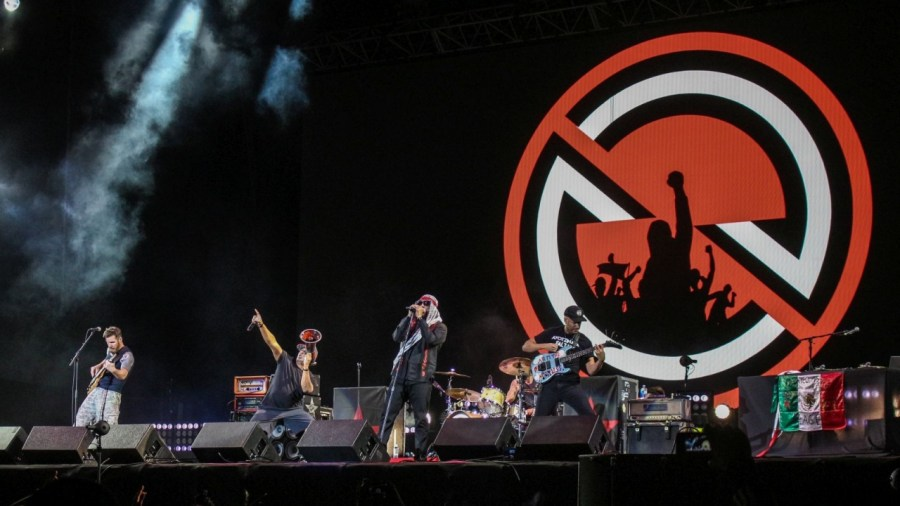 Prophets of Rage live auf dem Vive Latino Festival