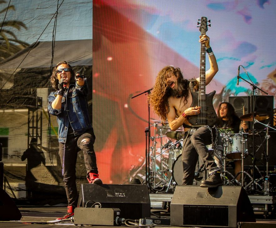 Agora live auf dem Vive Latino Festival