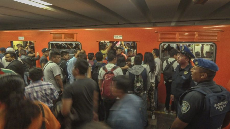 Metrostation in Mexico City