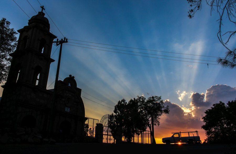 Sonnenuntergang in Taxco