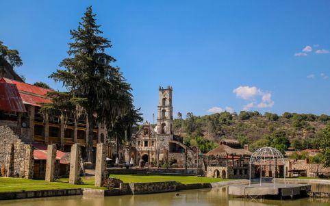 Hacienda de Santa Maria Regla nahe Prismas Basalticos