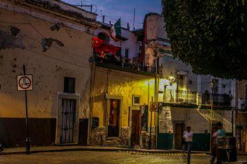 Guanajuato am Abend