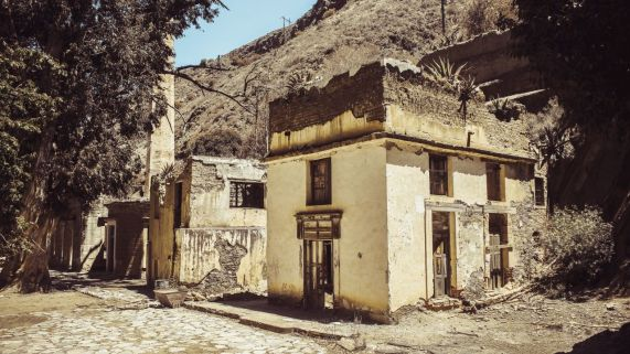 Alte Mine in Real de Catorce