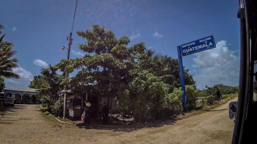 Die Grenze von Guatemala