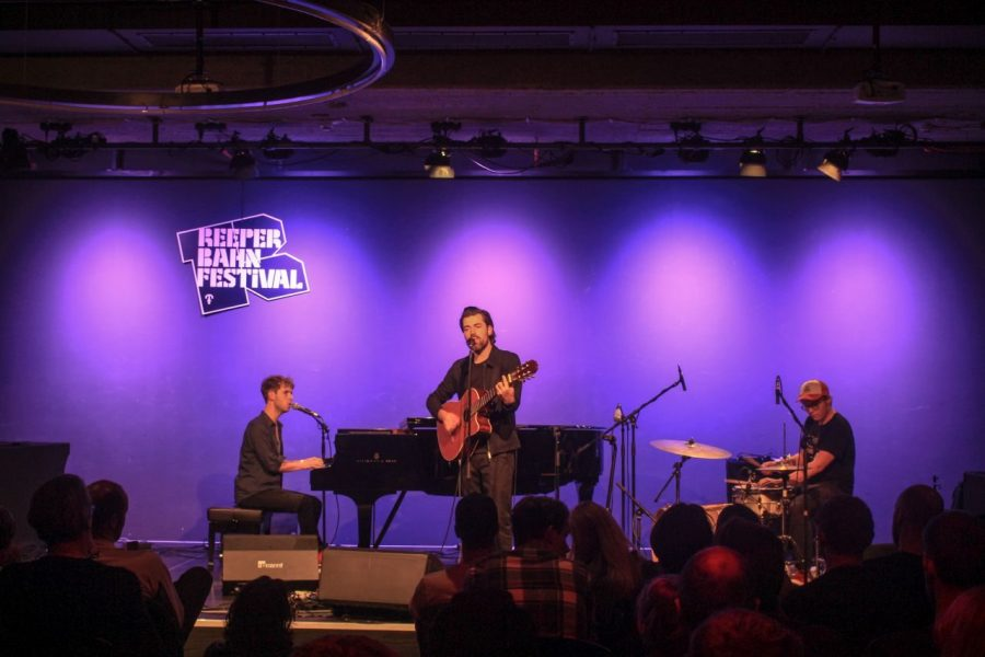 J. Bernardt live auf dem Reeperbahn Festival