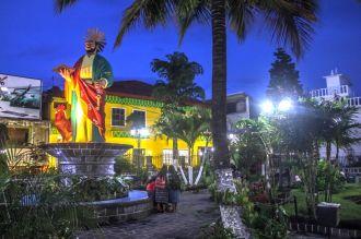 Stadtzentrum von San Marcos la Laguna
