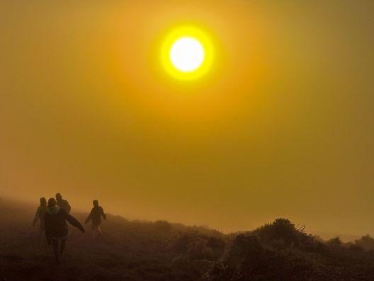 Sonnenaufgang auf dem Acatenango