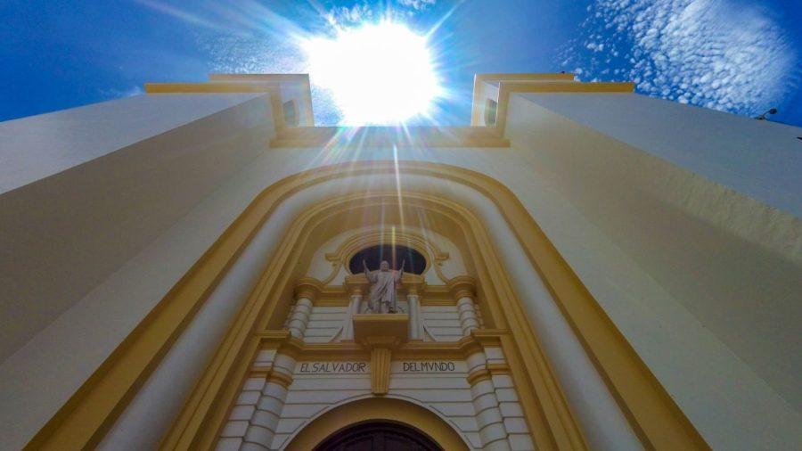 Kathedrale von San Salvador in El Salvador