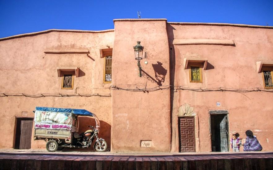 Stadtbild Marrakesch