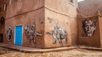 Street Art in Ouarzazate