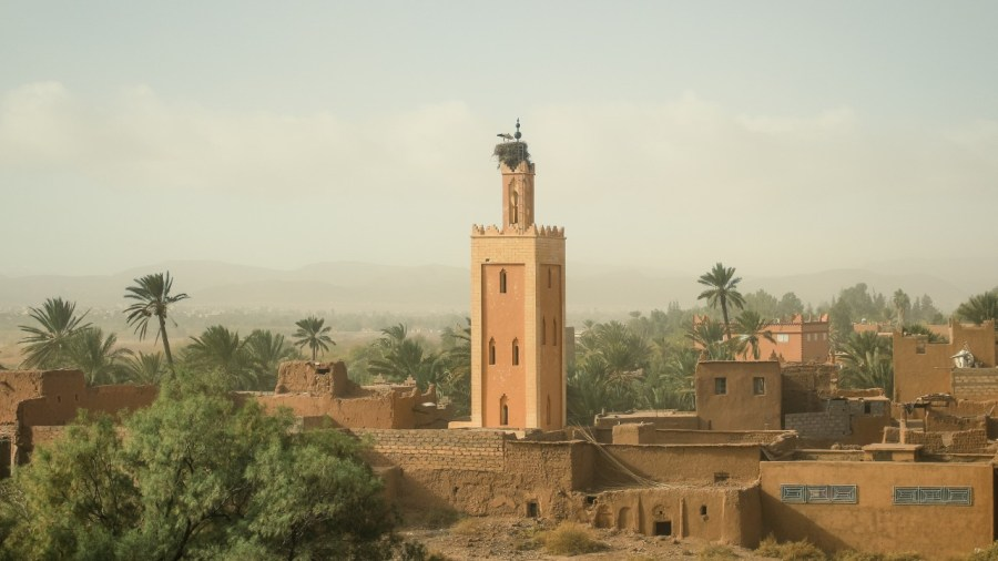 Blick auf die Altstadt von Ouarzazate