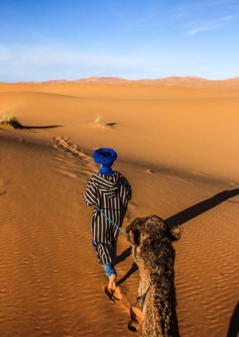 Ritt durch Erg Chebbi, Marokko