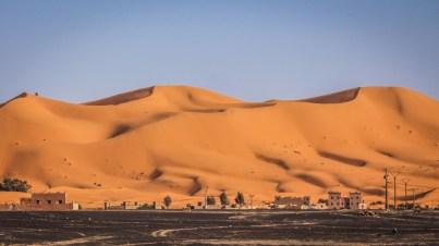 Erg Chebbi in der Wüste Sahara, Marokko