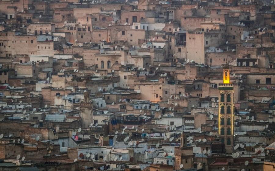 Skyline von Fez