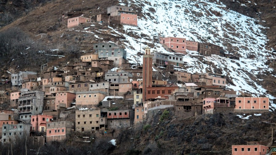 Das marokkanische Dorf Imlil