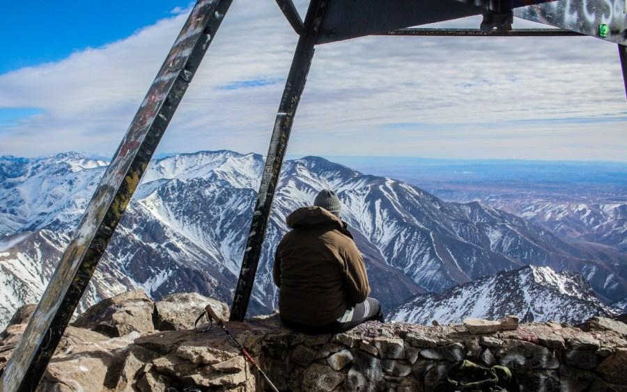 Auf dem Gipfel des Jbel Toubkal